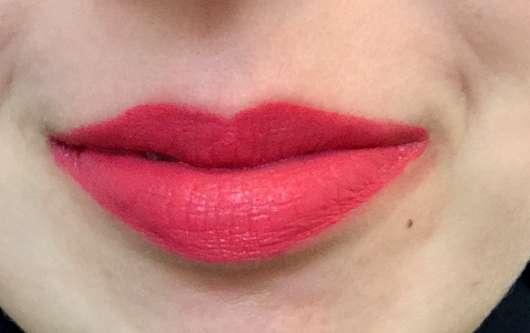 NYX Soft Matte Lip Cream, Farbe: Ibiza - Farbe auf den Lippen