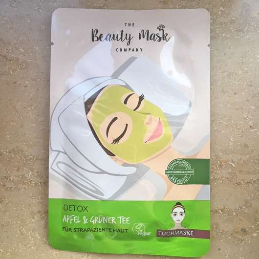 <strong>The Beauty Mask Company</strong> Detox Tuchmaske