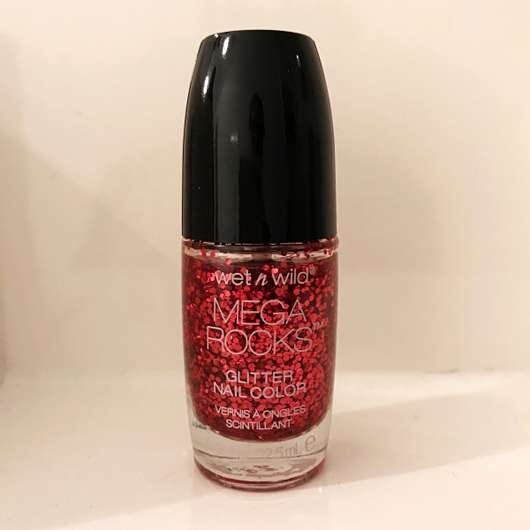 wet n wild Mega Rocks Glitter Nail Color, Farbe: E4964 Always in the Pit - Flasche