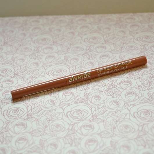 alverde Lipliner Automatic, Farbe: 60 Rosewood Smile
