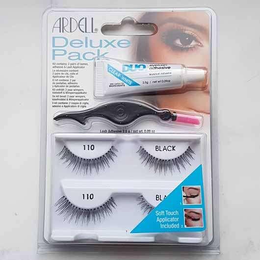 Test Für Die Augen Ardell Deluxe Pack 110 Wimpern Le