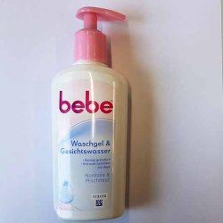 Produktbild zu bebe® Waschgel & Gesichtswasser