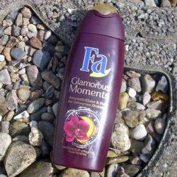 Produktbild zu Fa Glamorous Moments Amaranth-Elixier & Duft der Schwarzen Orchidee Duschcreme