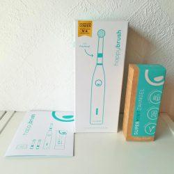 Produktbild zu happybrush ROTIEREND StarterKit – Farbe: SOFT WHITE
