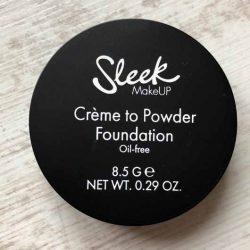 Produktbild zu Sleek MakeUP Crème To Powder Foundation – Farbe: C2P03