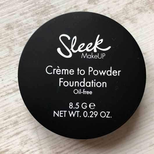Sleek MakeUP Crème To Powder Foundation, Farbe: C2P03