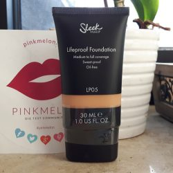 Produktbild zu Sleek MakeUP Lifeproof Foundation – Farbe: LP05