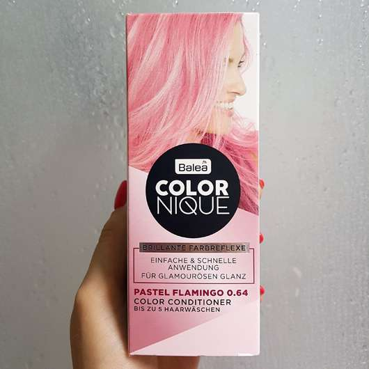 Balea COLORNIQUE Color Conditioner, Farbe: Pastel Flamingo 0.64