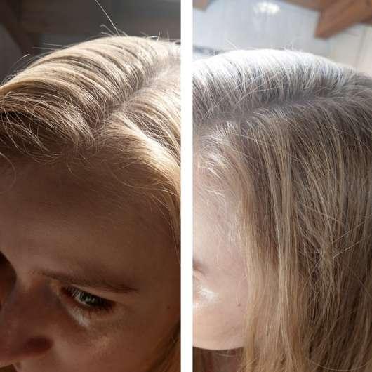 LANGHAARMÄDCHEN Pure Frische Trockenshampoo - Haare nach der Anwendung