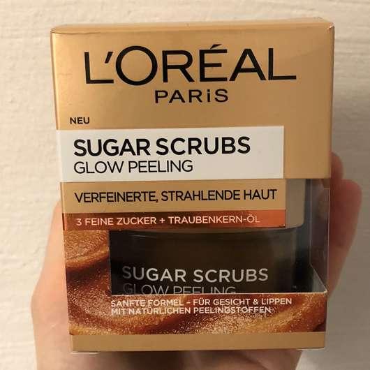 L'ORÉAL PARiS Sugar Scrubs Glow Peeling - Verpackung