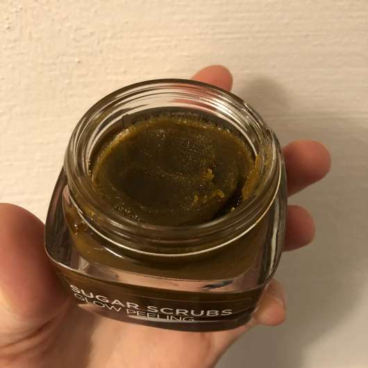 L'ORÉAL PARiS Sugar Scrubs Glow Peeling - Konsistenz