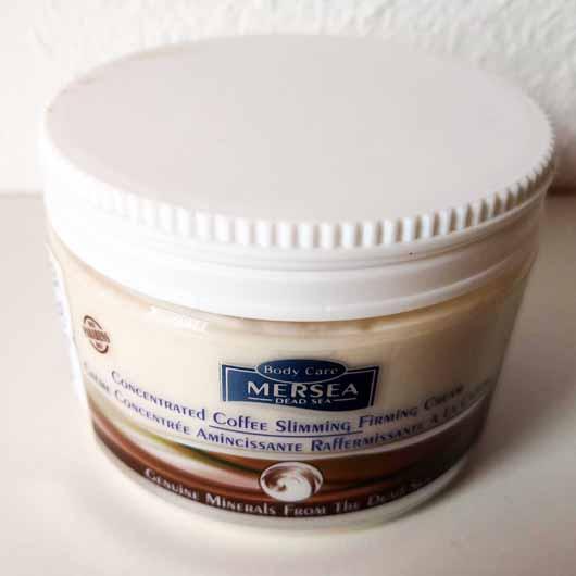 MERSEA DEAD SEA Coffee Slimming and Firming Crème - Tiegel
