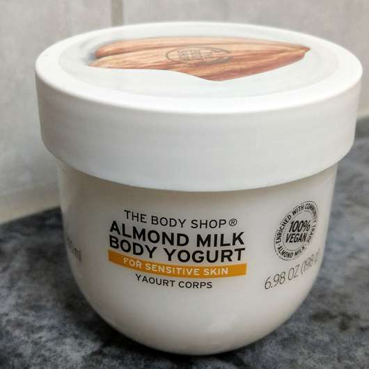 The Body Shop Almond Milk Body Yogurt - Tiegel