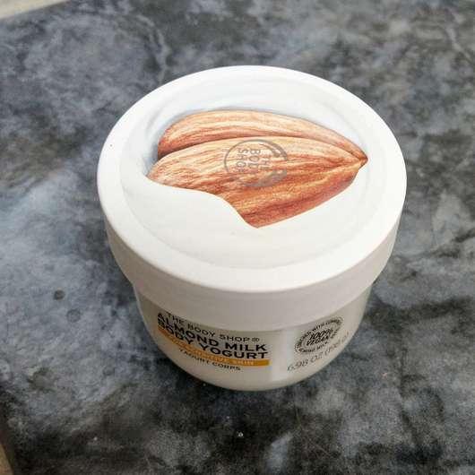 The Body Shop Almond Milk Body Yogurt - Tiegel von oben