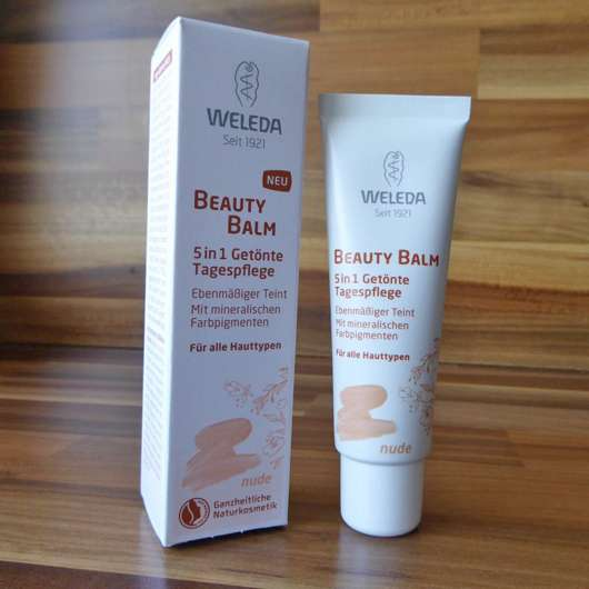 Weleda Beauty Balm 5in1 Getönte Tagespflege, Farbe: nude