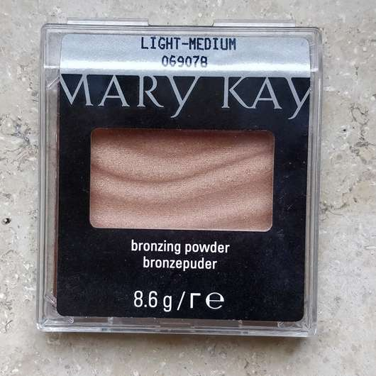 Mary Kay Bronzing Powder, Farbe: Light-Medium