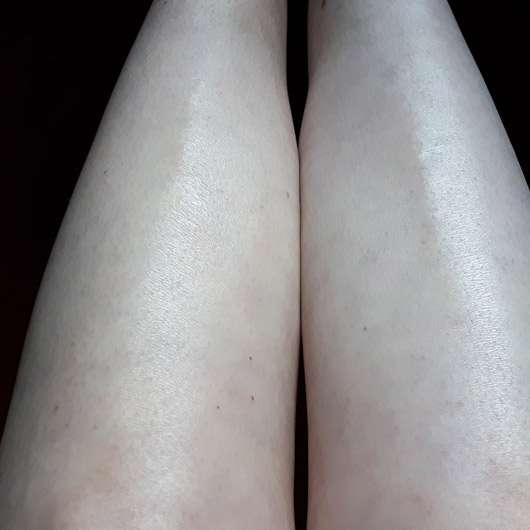 Mary Kay Subtle Tanning Lotion (LE) - direkter Vergleich linkst mit, rechts ohne Selbstbräuner