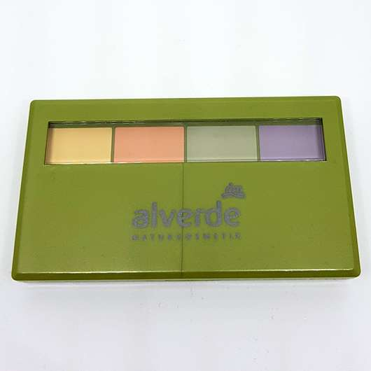 alverde Color Correcting Palette - Verpackung