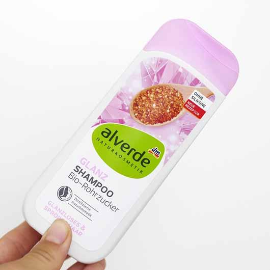 alverde Glanz Shampoo Bio-Rohrzucker