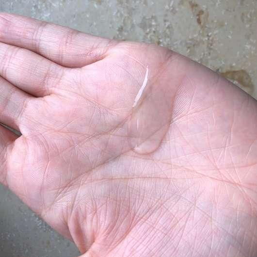 alverde Glanz Shampoo Bio-Rohrzucker - Konsistenz