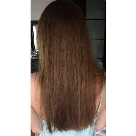 alverde Glanz Shampoo Bio-Rohrzucker - Haare nach Testphase