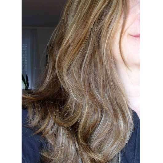 alverde Glanz Sprühkur Bio-Rohrzucker - Haare nach 4 Wochen Anwendung
