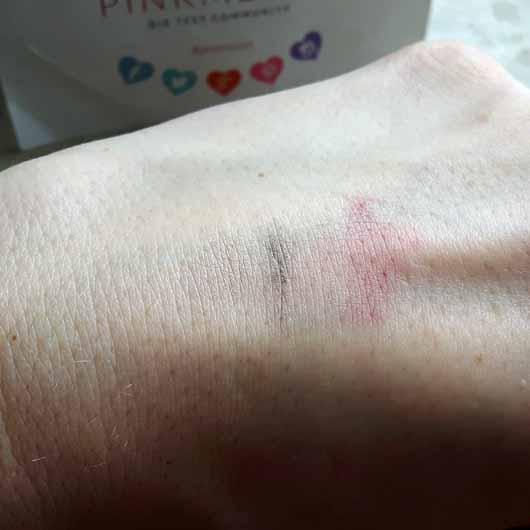 Balea Reinigungsstick - Reinigungssimulation Ergebnis