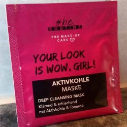 Produktbild zu #be routine Aktivkohle Maske – Deep Cleansing Mask