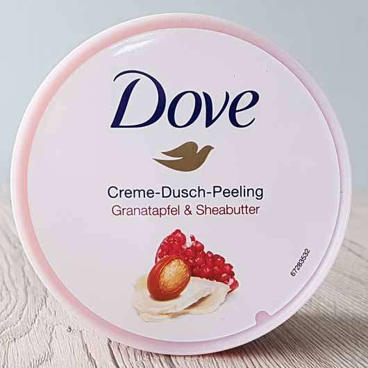 Dove Creme-Dusch-Peeling Granatapfel & Sheabutter - Design Deckel