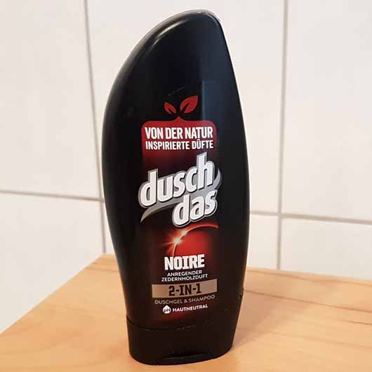 test duschgel duschdas for men noire 2in1 duschgel. Black Bedroom Furniture Sets. Home Design Ideas
