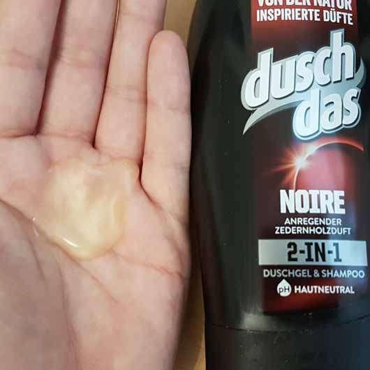duschdas for Men Noire 2in1 Duschgel & Shampoo - Konsistenz