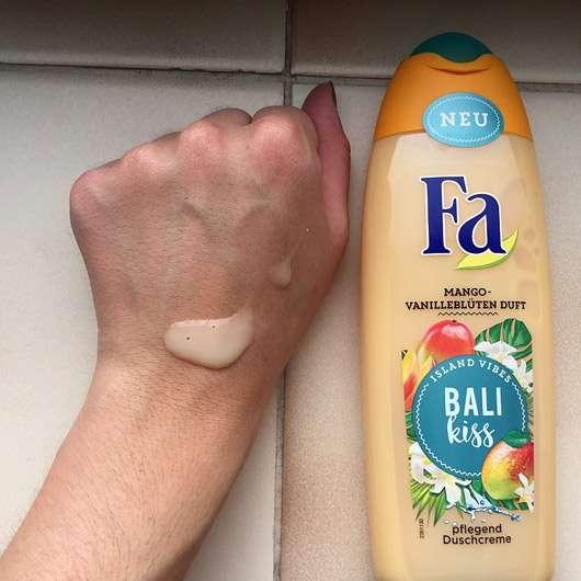 Fa Bali Kiss Duschcreme - Konsistenz