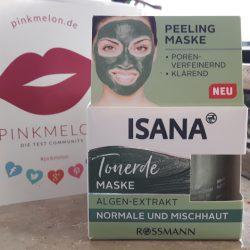 Produktbild zu ISANA Tonerde Maske Algen-Extrakt