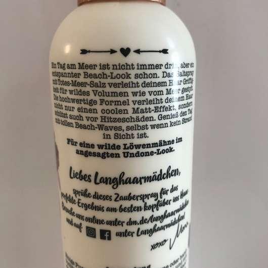 DM Langhaar Mädchen Salt Spray
