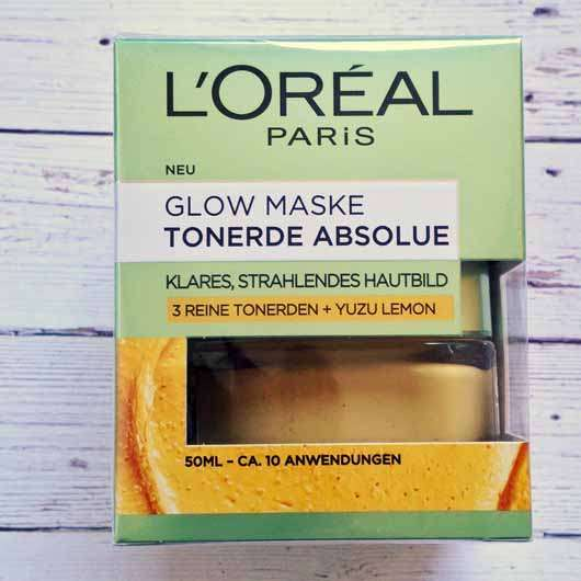 L'ORÉAL PARiS Tonerde Absolue Glow Maske mit Yuzu Lemon