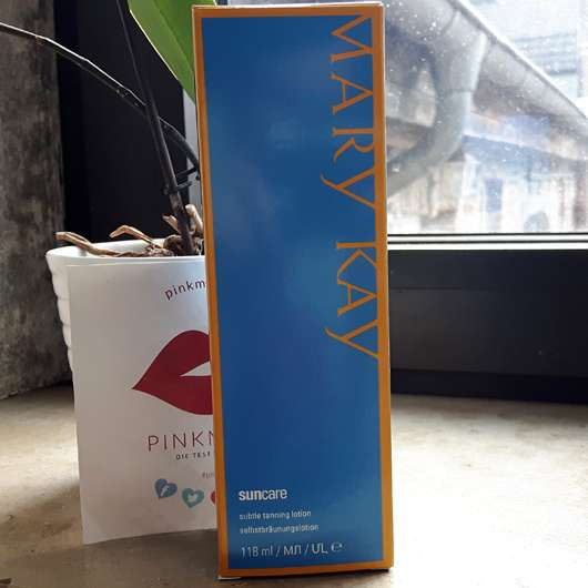 Mary Kay Subtle Tanning Lotion (LE) - Verpackung