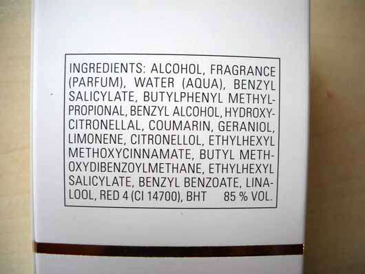 Otto Kern Soft Contrast Woman Eau de Parfum - Inhaltsstoffe