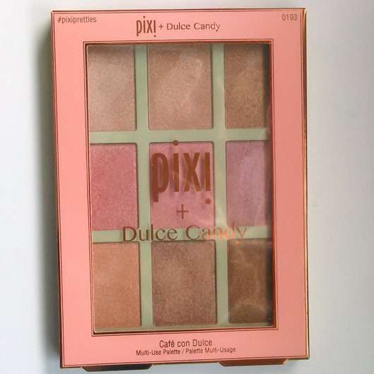 Pixi + Dulce Candy Café Con Dulce Multi-Use Palette, Farbe: Sweet Glow