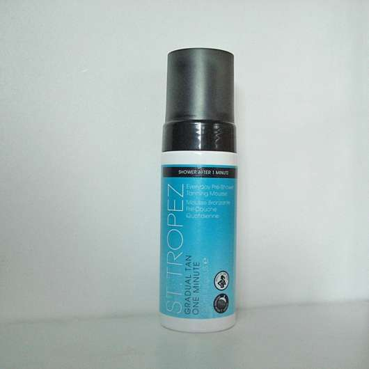 St.Tropez Gradual Tan 1 Minute Everyday Pre-Shower Tanning Mousse