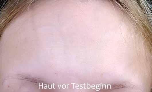 Pixi Rose Cream Cleanser - Hautbild vor dem Test
