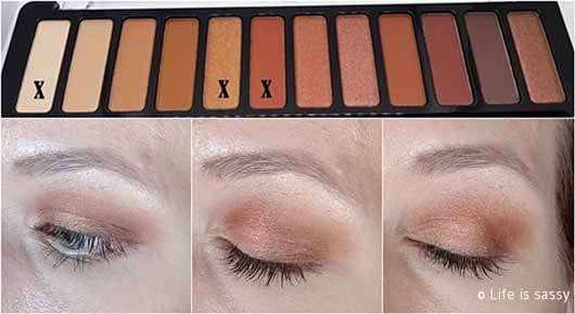 essence wanted: sunset dreamer eyeshadow palette, Farbe: 01 desert heat (LE) - AMU 1