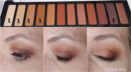 essence wanted: sunset dreamer eyeshadow palette, Farbe: 01 desert heat (LE) - AMU 2