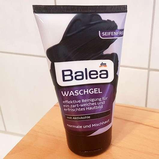 Balea Waschgel mit Aktivkohle - Tube