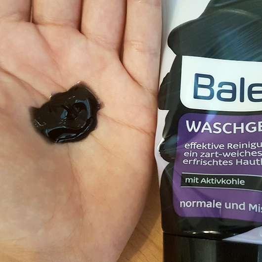 Balea Waschgel mit Aktivkohle - Konsistenz