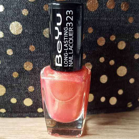 BeYu Long-Lasting Nail Lacquer, Farbe: 323 Starfish (LE)