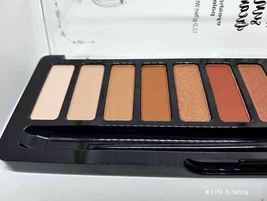 essence wanted: sunset dreamer eyeshadow palette, Farbe: 01 desert heat (LE) - Farben