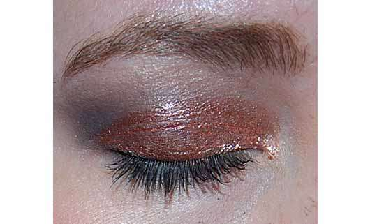 Pixi Liquid Fairy Lights Glimmery Shadow, Farbe: Rose Gold - Farbe auf dem Auge