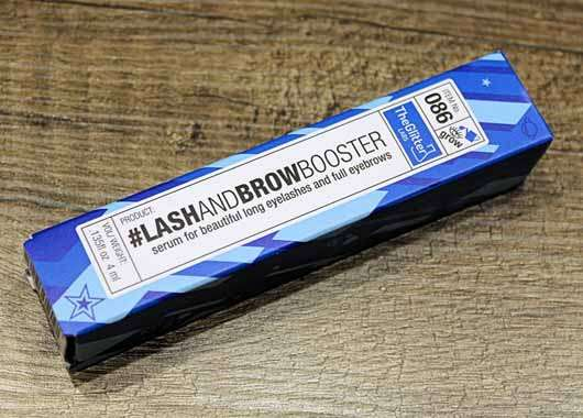 The Glitter Labs Lash And Brow Booster - Verpackung