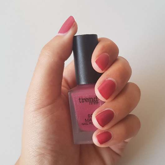 Nägel mit trend IT UP Soft Matte Nail Polish, Farbe: 012