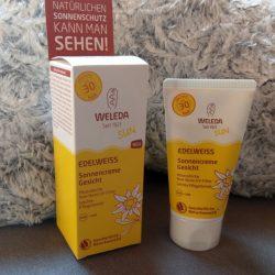 Produktbild zu Weleda Edelweiss Sonnencreme Gesicht LSF 30